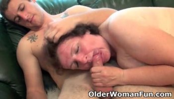 Mao Saito gets woody after woody in mouth